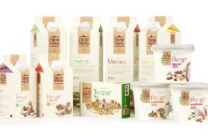 Превосходство дизайнерского решения упаковки продуктов из молока